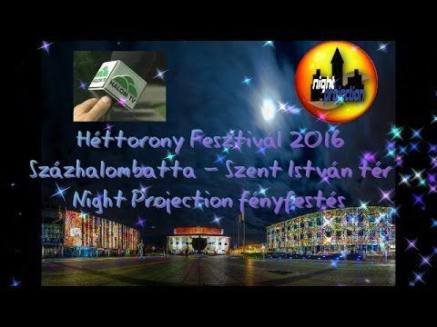 Héttorony Fesztivál Százhalombatta 2016. 6. nap - Night Projection fényfestés  Szent István Templom Százhalombatta - Fényfestészet a Szent István tér épületeinek falaira (22 vetítőgépes kompozíció) - részlet a Halom Televízió Százhalombatta 2016. 11. 14. híradójából  #HéttoronyFesztivál #Százhalombatta #HalomTelevízió #Makovecz #NightProjection #fényfestés #fényfestészet #raypainting #visuals