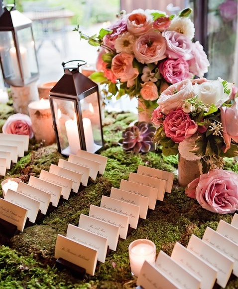 Wrap matchboxes with pretty paper and write your guests' names on them for a great double-duty favor. The pattern or color of the paper dictates which table they're assigned to.