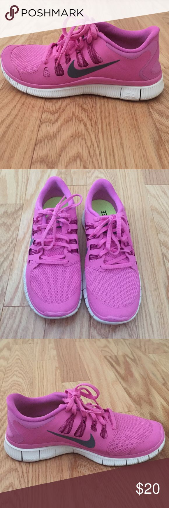 Nike free 5.0 pink sneakers Nike free 5.0 pink sneakers Nike Shoes Athletic Shoes