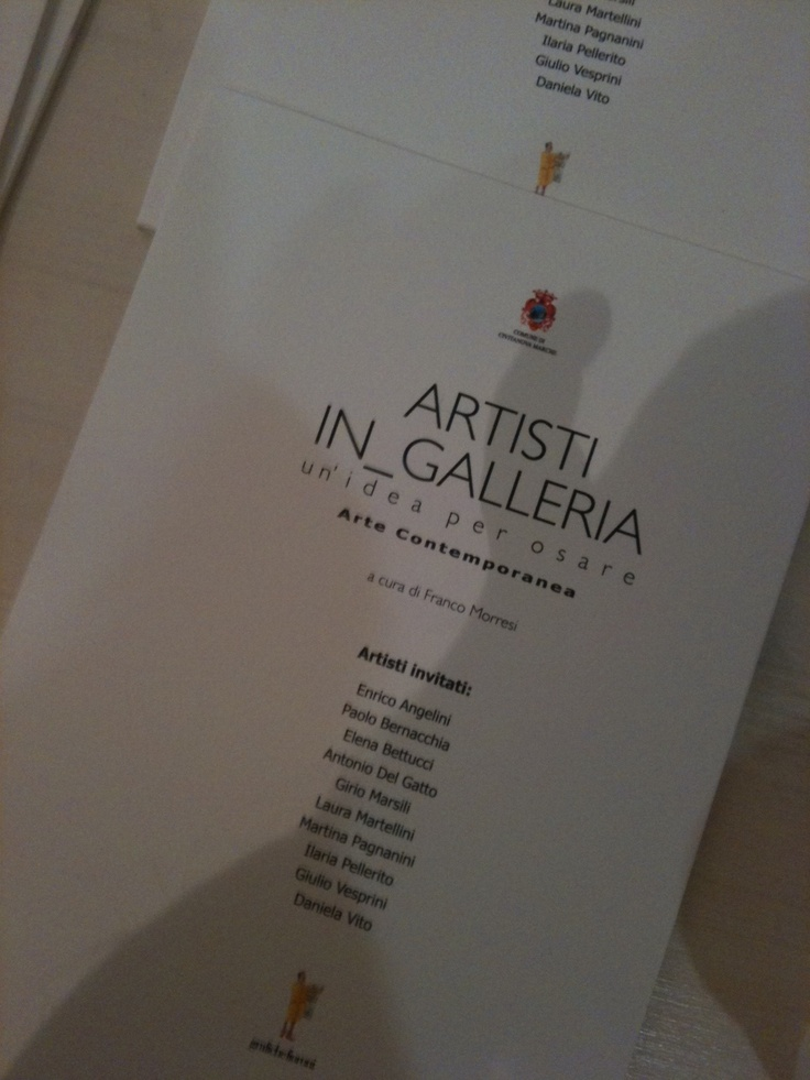 """Inaugurazione mostra """"Artisti in_Galleria"""" - i cataloghi"""