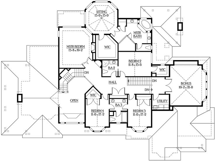 Photo Of Luxury Master Suite and Recreation Level JD Architectural Designs House Plans