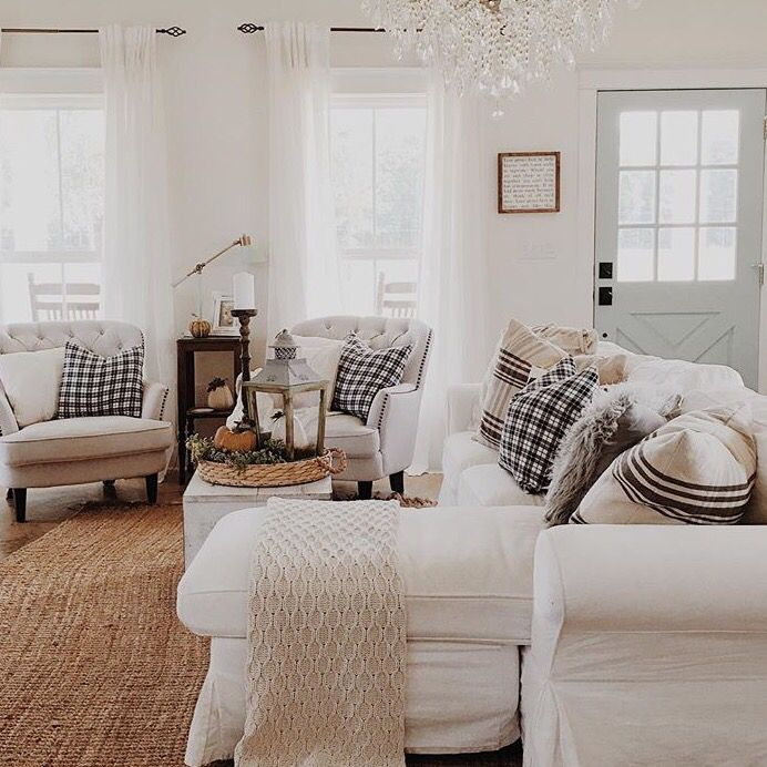 408 best images about h o m e living room on pinterest for Cozy cottage living room ideas