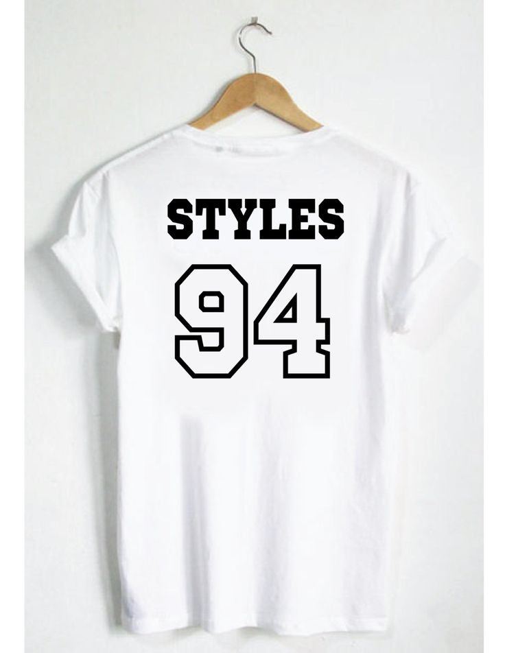 Harry Styles 94 T-Shirt! One Direction Jersey Style Unisex Tee. Men Women Boys Girls Ladies Gift Instagram tumblr pinterest twitter by SPARKEDclothing on Etsy