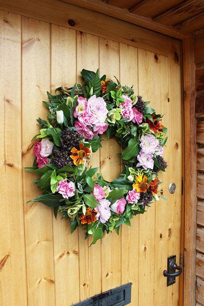 Pick Me - Fresh flower door wreath