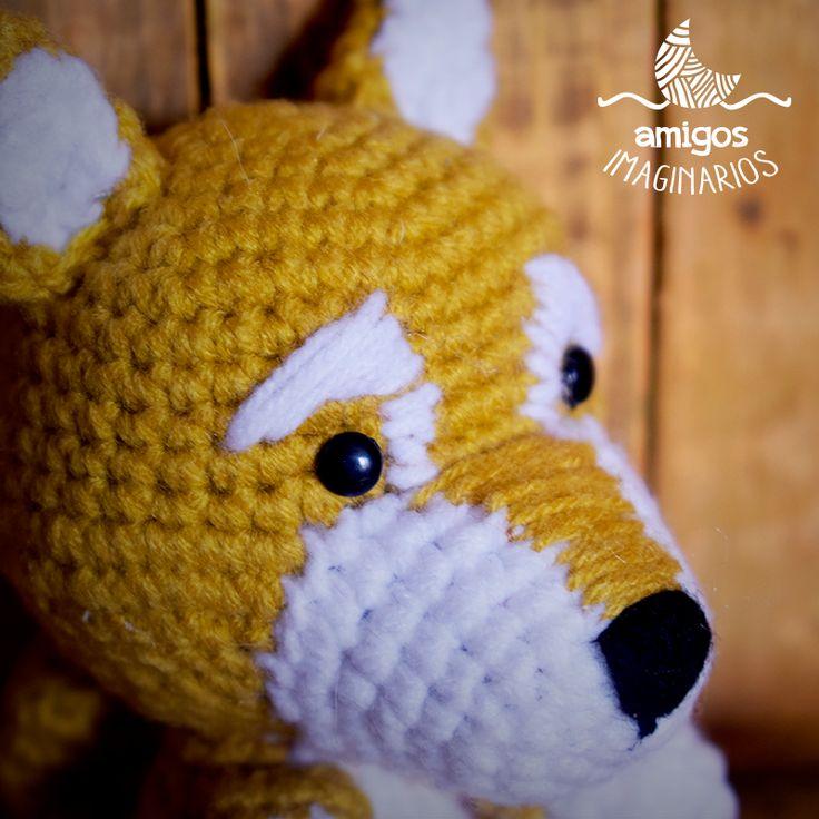 Every morning, a new little friend shows up, like this adorable puppy who scratched our shop door. Should we adopt him? <3 :3 ------------------------------------------------------------------------------ Cada mañana se nos presenta un nuevo amiguito, como este adorable cachorro quién rascó la puerta de nuestro taller. Lo adoptamos? <3 :3 #amigurumi #crochet #crochetlove #puppy #instadog #instacrochet #handmade #hechoamano #design #designbyluna #mendoza #argentina