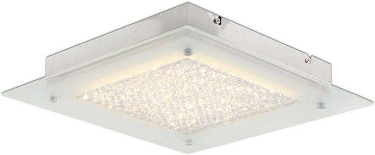 Näve LED Deckenleuchte 1flg., LEDs fest integriert, »Kristall« Jetzt bestellen unter: https://moebel.ladendirekt.de/lampen/deckenleuchten/deckenlampen/?uid=825ef132-9422-5e14-a6eb-77ef44d7d0cb&utm_source=pinterest&utm_medium=pin&utm_campaign=boards #deckenleuchten #lampen #deckenlampen