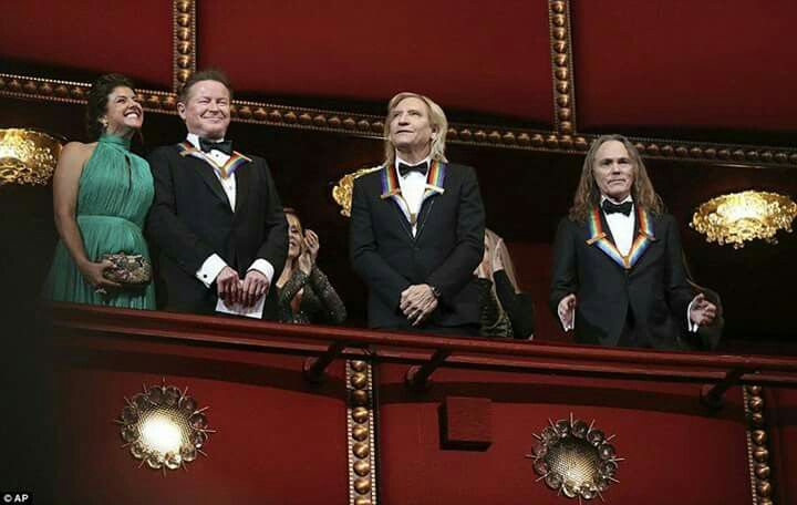 The Eagles at The Kennedy Center Honors in DC  12-2-2016