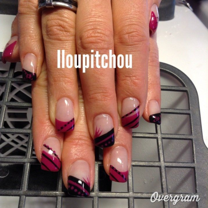 Image - Maryline - Déco d'ongle en gel - Skyrock.com