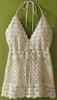 Cantinho da Jana: Gráficos de blusa de crochê