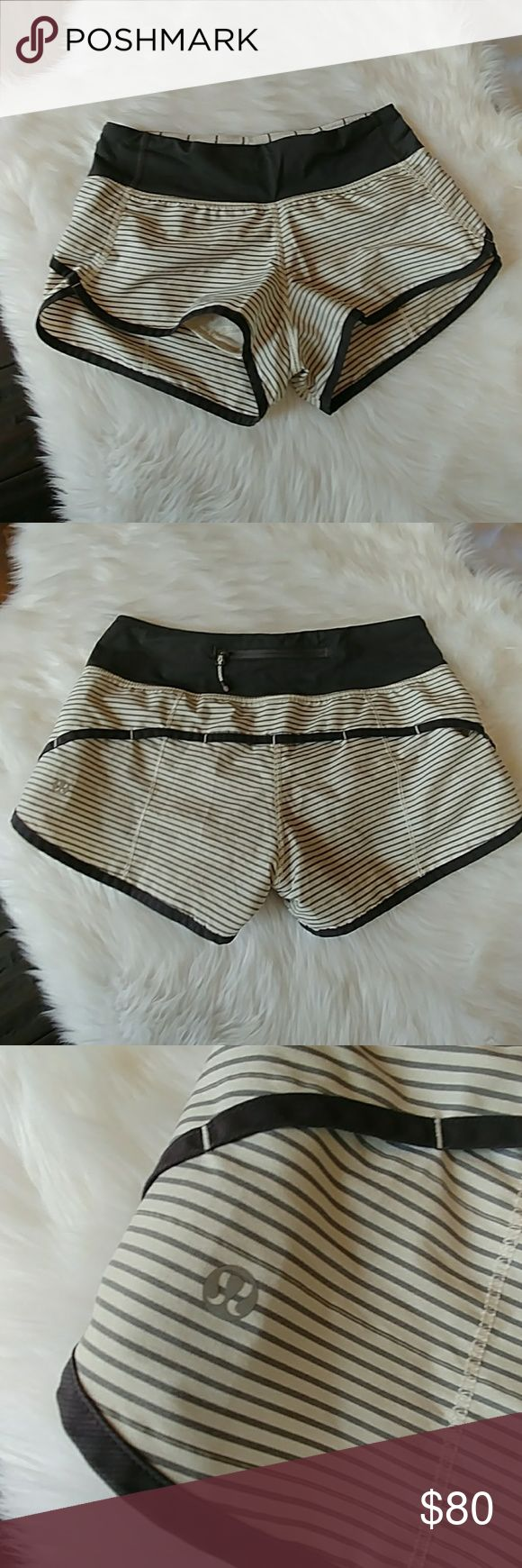Lululemon Speed Shorts Lululemon Speed Shorts Size 2 Would love to trade for a size 4 lululemon athletica Shorts