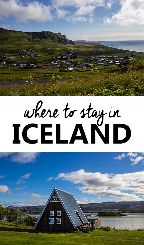 Where to stay in Iceland. A list and review of hotels, B&Bs, and farmstays during a 9 day Iceland road trip around Ring Road.