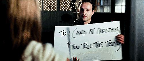 Even Andrew Lincoln Thinks His Love Actually Character Was a Stalker