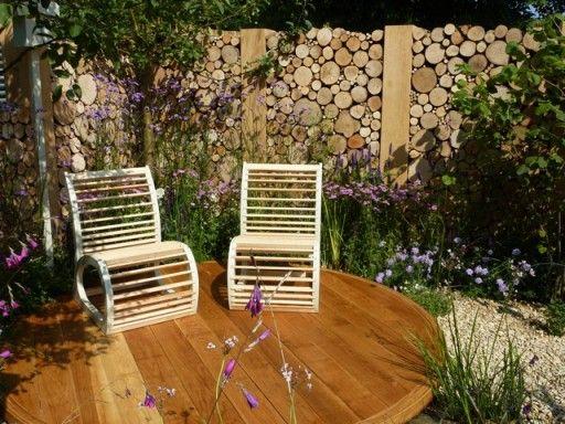 94 besten terrassen mauern z une bilder auf pinterest garten gestalten garten terrasse und. Black Bedroom Furniture Sets. Home Design Ideas