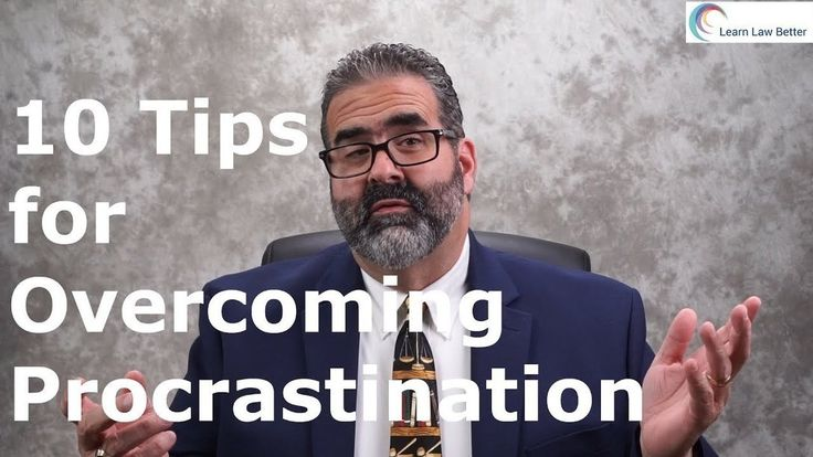 Do you struggle with procrastination? Are you looking for some ideas on how to do better? Here are 10 tips to help you fight procrastination. If you want more academic success tips, check out https://youtube.com/LearnLawBetter and https://facebook.com/LearnLawBetter
