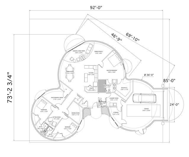 Dome floor plans image what a floor plan the home s for Reading a floor plan