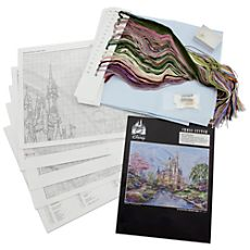 Cinderella Castle Deluxe Cross Stitch Set - Walt Disney World