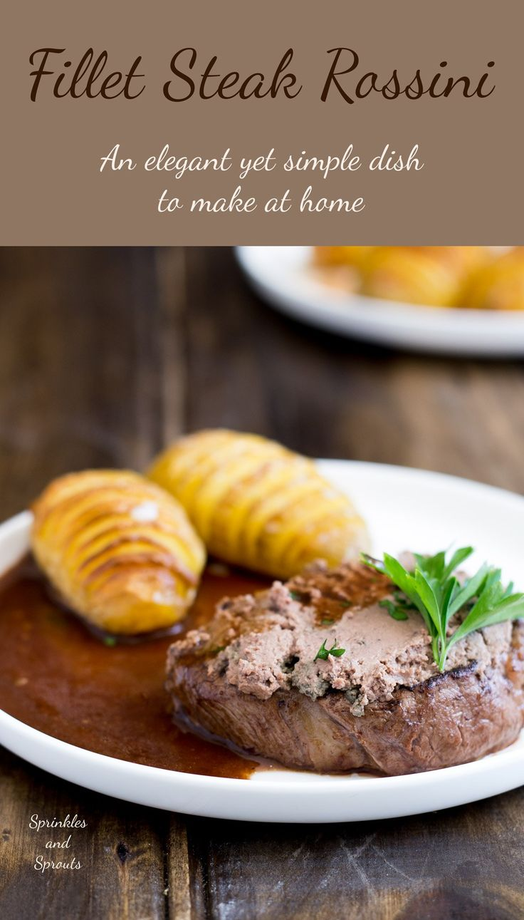 Fillet Steak Rossini, an elegant dinner party idea. Perfectly cooked steak, topped with rich pâté served with a delicious red wine jus. What could be…