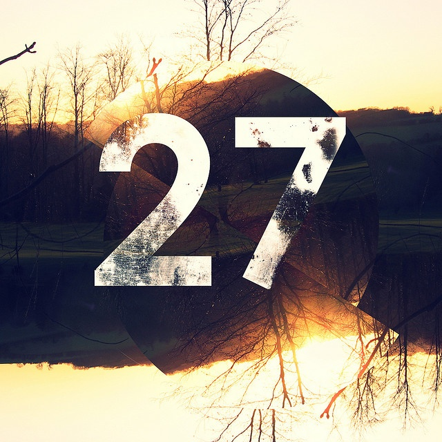 I turn 27 this week, one of my favourite numbers, hope its a good year.