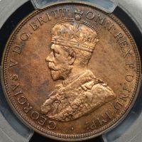 Prooflike PCGS MS62RB 1916I penny AUD$300