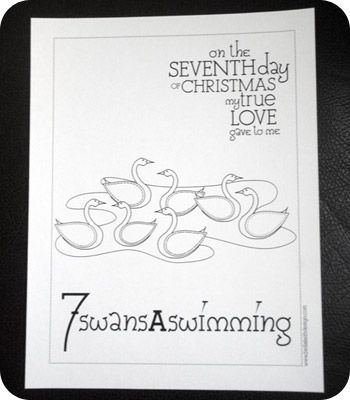 7 Best 12 Days Of Christmas Images On Pinterest