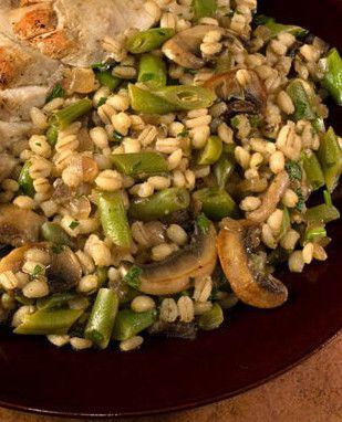 Algo rico y saludable es esta Receta de Ensalada de cebada con setas y ejotes que pueden preparar muy fácilmente y resulta deliciosa
