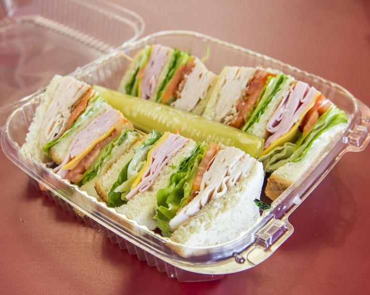 Turkey and Ham Club w/ a Pickle Spear. #sandwiches #food #lunch #love #salads #recipe #breakfast #coffee #foodie #foodporn