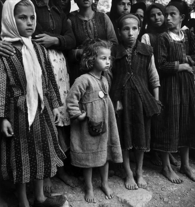 Greece 1948. Refugees. ~ David Seymour