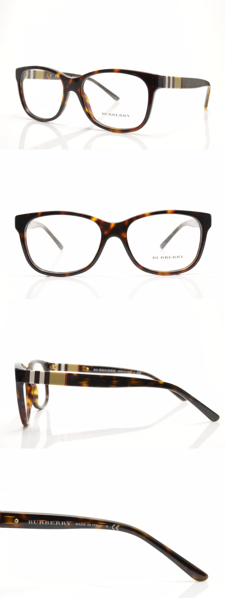 Eyeglass Frames: ??#17 B 2204 3002 (Q-0) New Authentic Burberry Eyeglasses Frame 54-16-140 Italy BUY IT NOW ONLY: $64.99