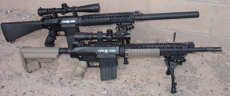 12 best images about SR-25 on Pinterest | Airsoft sniper ...
