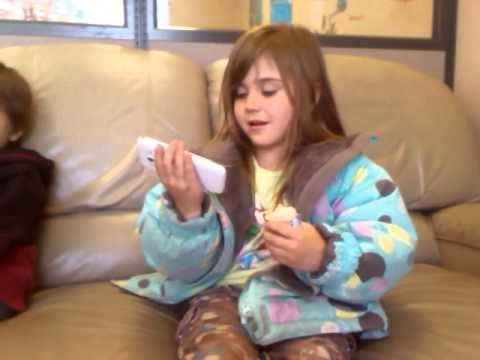 4 year old singing her cree songs - YouTube