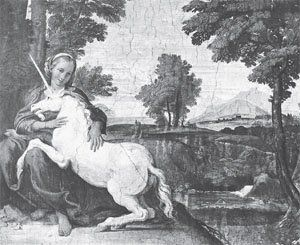 The picture looks like the medevial imagination of a unicorn and what we normally think of today. This Answers in Genesis article discusses possibilities for the animal refered to in its Biblical references. :)