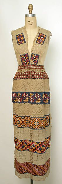 Apron / Date: 1890s Culture: Russian Medium: cotton, linen