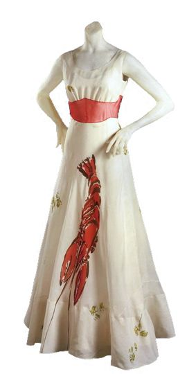 Elsa Schiaparelli and Dalí's: Lobster Dress | studio t