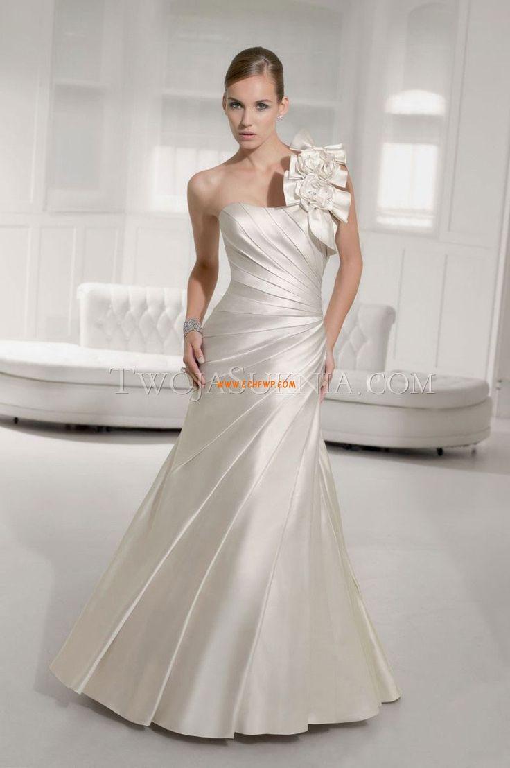 Elegantní & moderní Květiny Zip Svatební šaty Litomysl