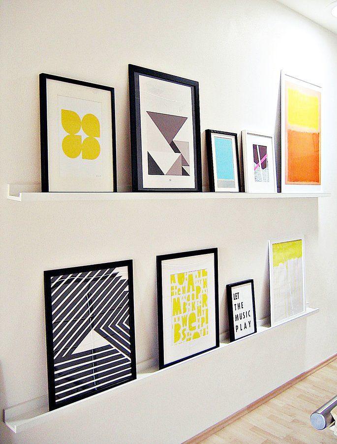 ber ideen zu bilderrahmen w nde auf pinterest bildw nde rahmen wand dekor und. Black Bedroom Furniture Sets. Home Design Ideas