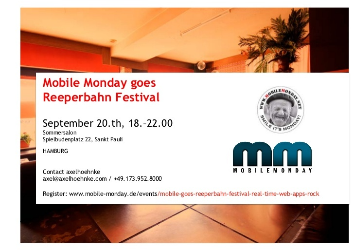 mobile monday goes reeperbahn-festival