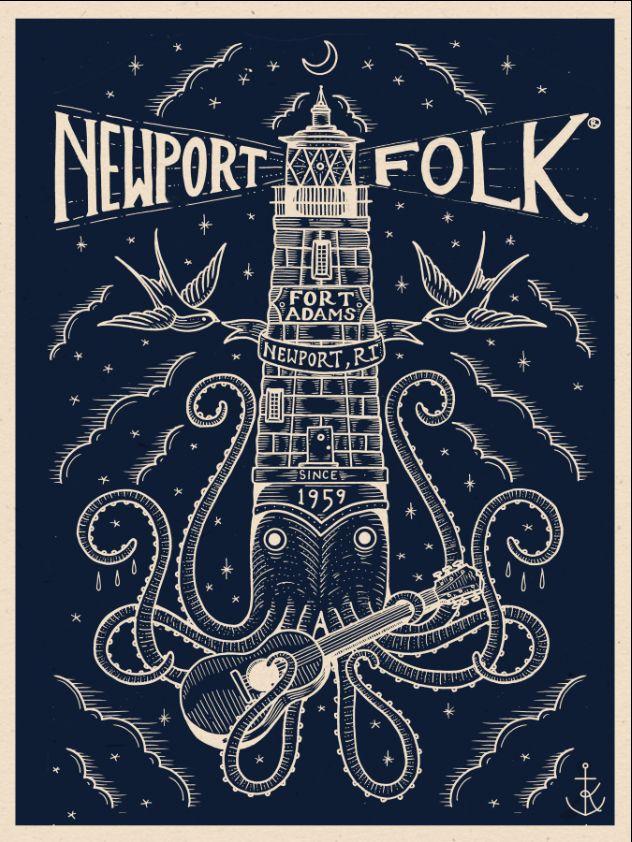 Newport Folk Festival Poster