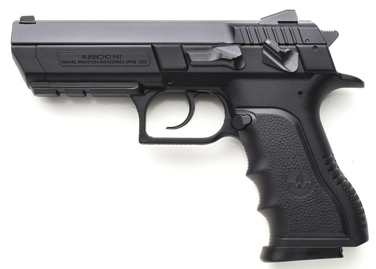 """IWI Jericho 941 Full-Sized Polymer 9mm With 4.4"""" Barrel - Almost 8-ounces lighter than its steel frame brother - IWI Jerico will soon be listed on our website. Until then, please email: luke@huntinganddefense.com SKU: IW-J94-1PSL9"""