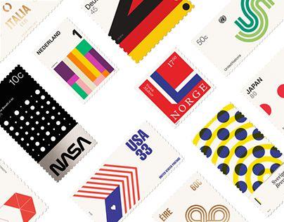 다음 @Behance 프로젝트 확인: \u201cBasic Stamps\u201d https://www.behance.net/gallery/16917491/Basic-Stamps
