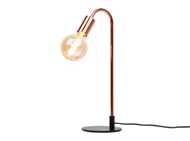 Octavia Table Lamp, Copper £39