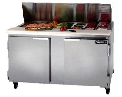Leader Eslm60 60 Quot Refrigerated Sandwich Prep Table Nsf