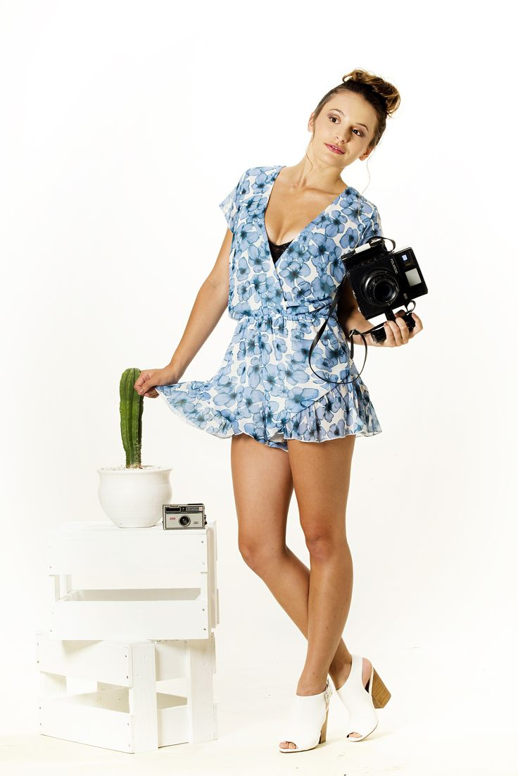 The Broken Flower Playsuit is selling fast.  Get yours from www.vanillamayboutique.co.nz Limited numbers left