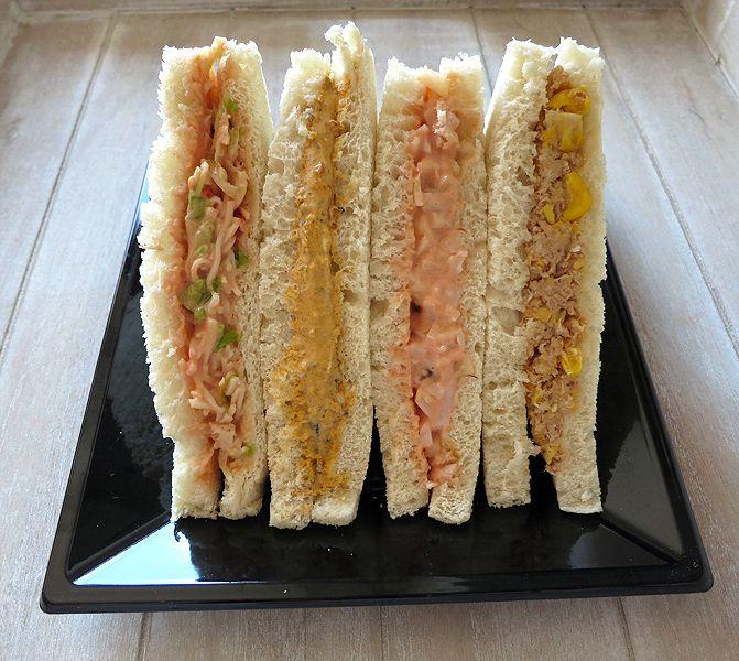 Rellenos para sandwich II