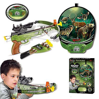 #Hunting #sport crossbow / #archery set shooting game with target arrows kids boy,  View more on the LINK: http://www.zeppy.io/product/gb/2/361773726235/