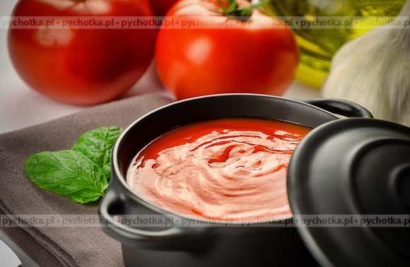 Zimny krem z pomidorów