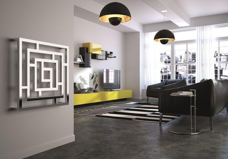 Milano Aruba   White Horizontal Designer Radiator 354mm X 1600mm | Tuszynek  Pomysły | Pinterest | Designer Radiator And Radiators