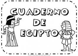 Resultado de imagen de lapbook infantil egipto