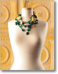 I've made a couple of long lariats with like 55 leaves and 20 flowers - fun