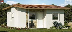 Muy pequeña casa de tres dormitorio y 44 metros cuadrados