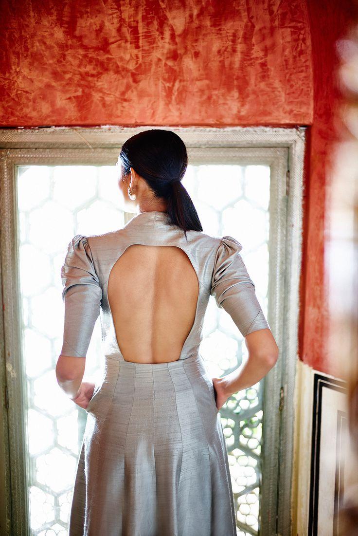 #AnitaDongre #bespoke #openback #details #WeddingInspiration #Rajasthan #Jaipur #Bride #bridal #jacket #wedding #ClassicBride #1135AD